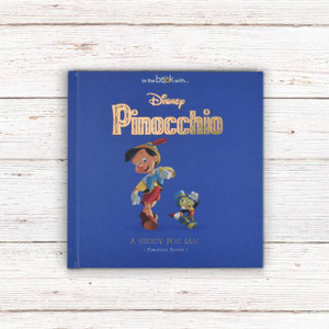 Personalised Disney Pinocchio Story Book From Something Personal