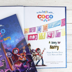 Personalised Disney Coco Book From Something Personal
