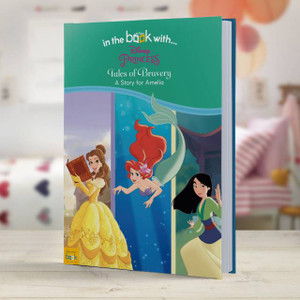 Personalised Disney Princesses' Tales of Bravery Story Book From Something Personal