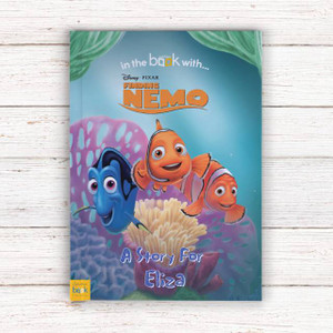 Personalised Disney Finding Nemo Book From Something Personal