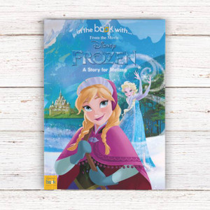 Personalised Disney Frozen Story Book From Something Personal
