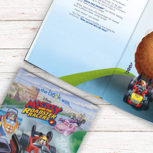 Personalised Disney Mickey And The Roadster Racers' Book From Something Personal