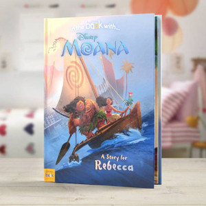 Personalised Disney Moana Book From Something Personal