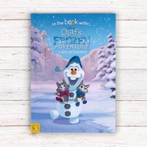 Personalised Disney Olaf's Frozen Adventure Story Book From Something Personal