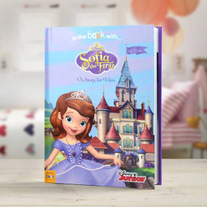 Personalised Disney Sofia The First Story Book From Something Personal