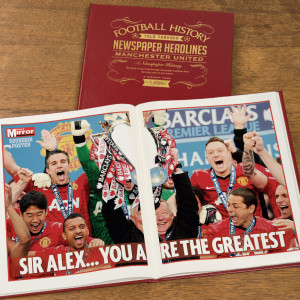 Personalised Manchester United Football Book From Something Personal
