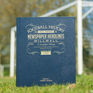 Personalised Millwall Football Club Book From Something Personal