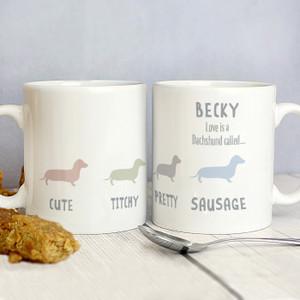 Personalised Dog Breed Mug From Something Personal