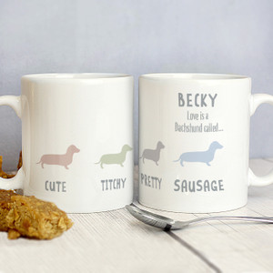 Personalised Dog Breed Mug From Something Personal
