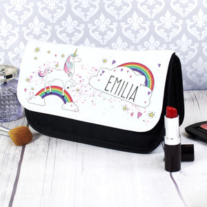Personalised Unicorn Make Up Bag From Something Personal