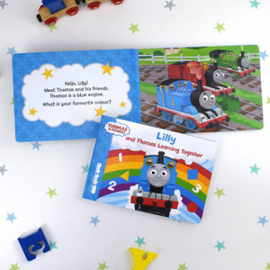 Personalised Me & Thomas Learning Together Board Book From Something Personal