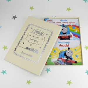 Personalised Dual Box-Set Thomas & Friends Board Books From Something Personal