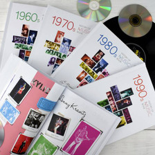 Personalised Music Decade Book From Something Personal