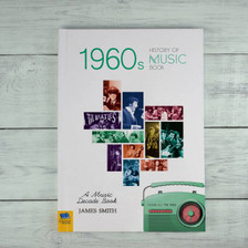Personalised Music Decade 1960s Book From Something Personal