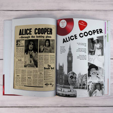 Personalised Music Decade 1970s Book From Something Personal