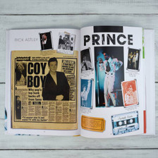 Personalised Music Decade 1980s Book From Something Personal