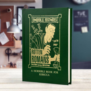Personalised Horrible Histories Rotten Romans Book From Something Personal