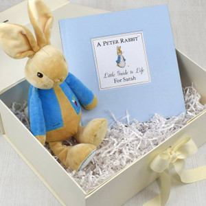 Personalised Peter Rabbit Book & Toy Giftset From Something Personal
