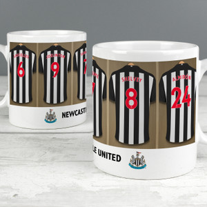 Personalised Newcastle United FC Dressing Room Mug From Something Personal