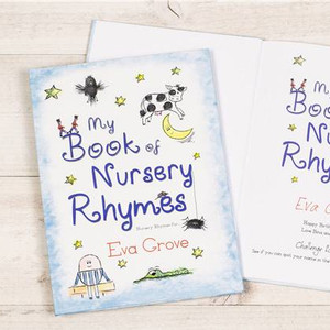 Personalised My Book of Nursery Rhymes From Something Personal