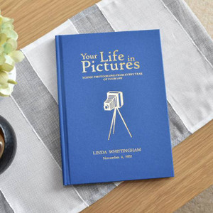 Personalised Your Life In Pictures Book From Something Personal