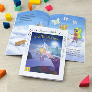 Personalised Tooth Fairy Book From Something Personal