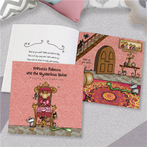 Personalised The Princess & The Mysterious Noise Book From Something Personal