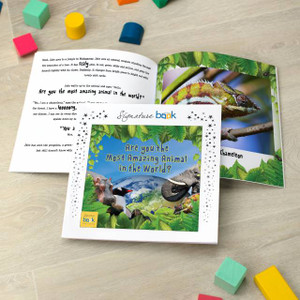 Most Amazing Animal Personalised Children's Book From Something Personal