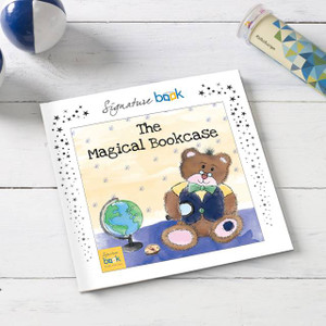 The Magical Bookcase Personalised Book From Something Personal