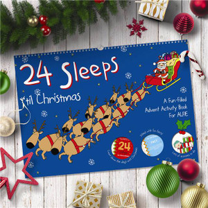 24 Sleeps 'till Christmas Personalised Book From Something Personal