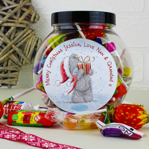 Personalised Me To You Christmas Sweet Jar From Something Personal