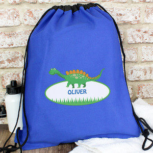 Personalised Dinosaur Swim Bag From Something Personal