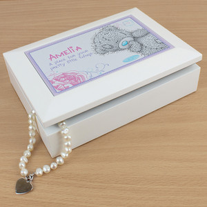 Personalised Me To You Girls Jewellery Box From Something Personal