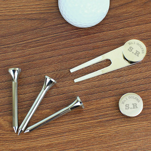 Personalised No.1 Golfer Golf Set From Something Personal