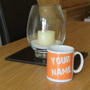Personalised Text Mug From Something Personal