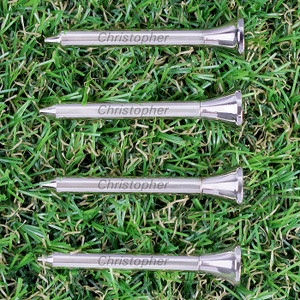 Personalised Pack of 4 Golf Tees From Something Personal