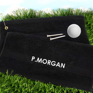 Personalised Golf Towel From Something Personal
