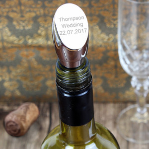 Personalised Contemporary Wine Stopper From Something Personal