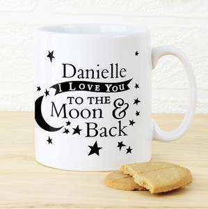 Personalised To The Moon & Back Mug From Something Personal