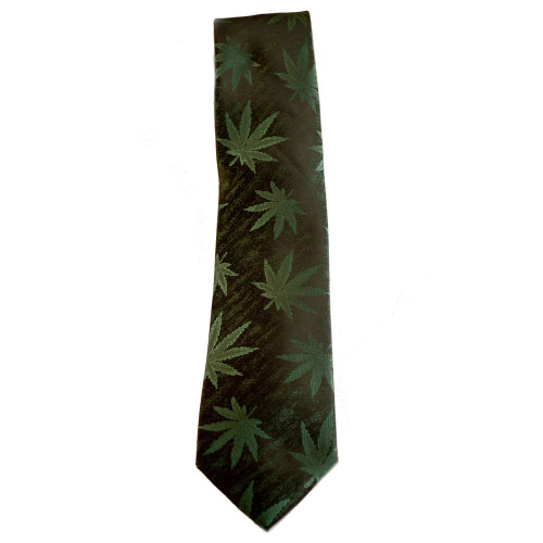 Make a statement in this Marijuana Tie.  Worn on its own or with your marijuana smoking jacket, you will not be forgotten.