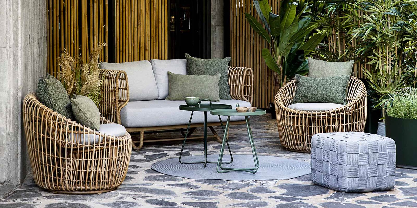 Cane-Line Nest Outdoor Furniture Collection