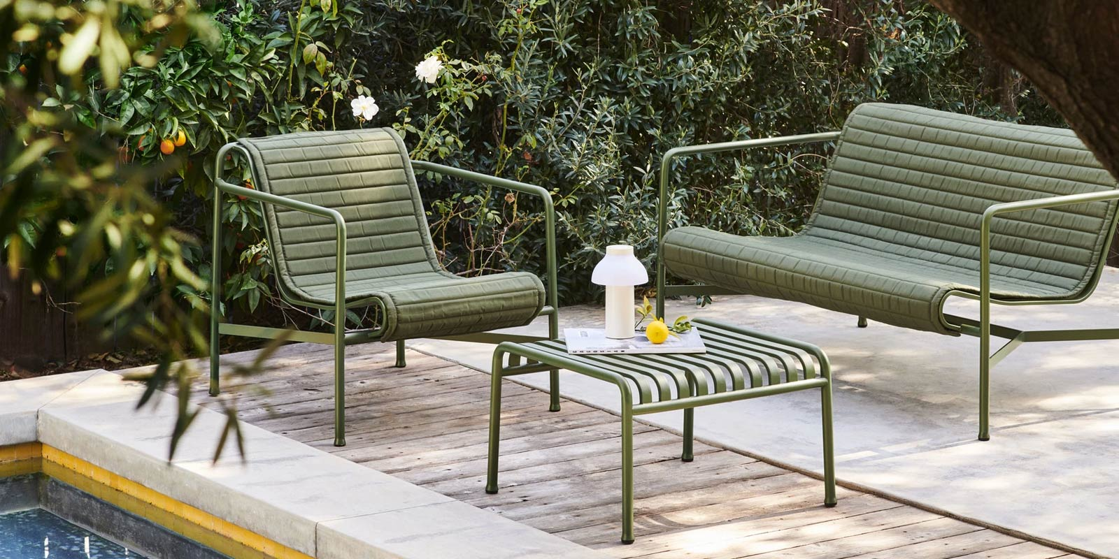HAY Palissade Outdoor Furniture Collection