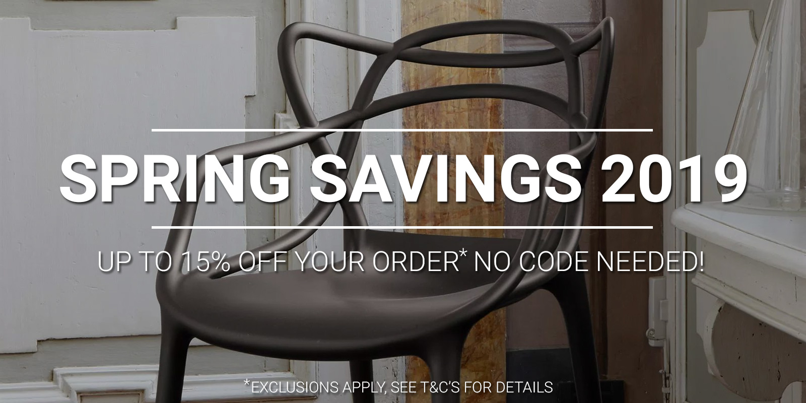Papillon Interiors Spring Savings 2019