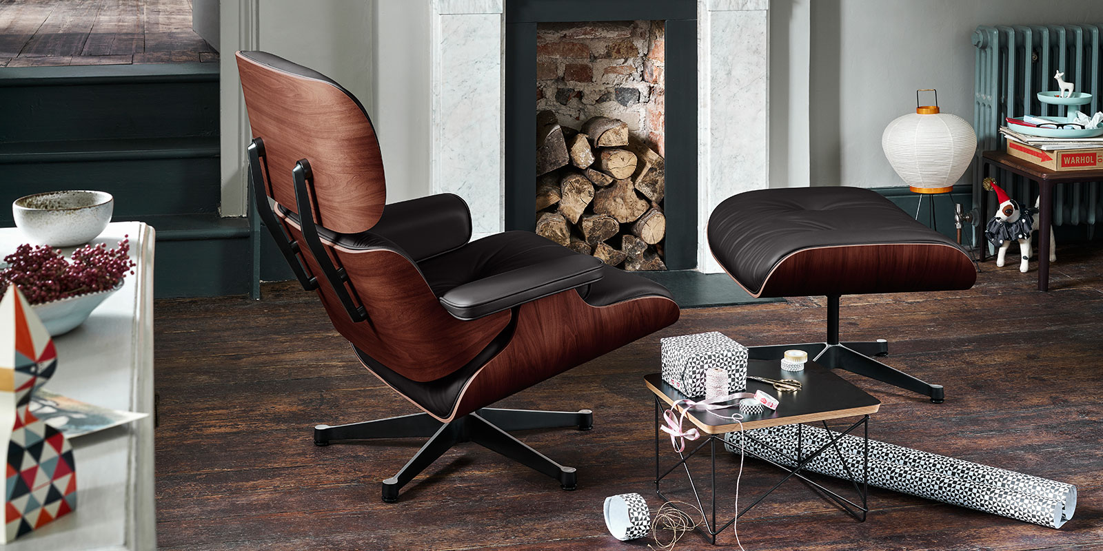 Papillon Interiors Lounge Chairs - Vitra Eames Lounge Chair & Ottoman