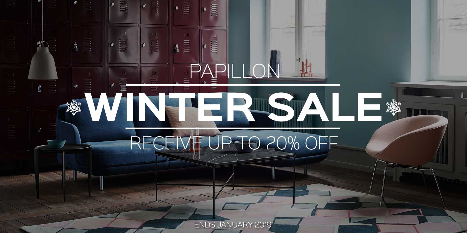 Papillon Interiors Winter Sale 2018 - Fritz Hansen