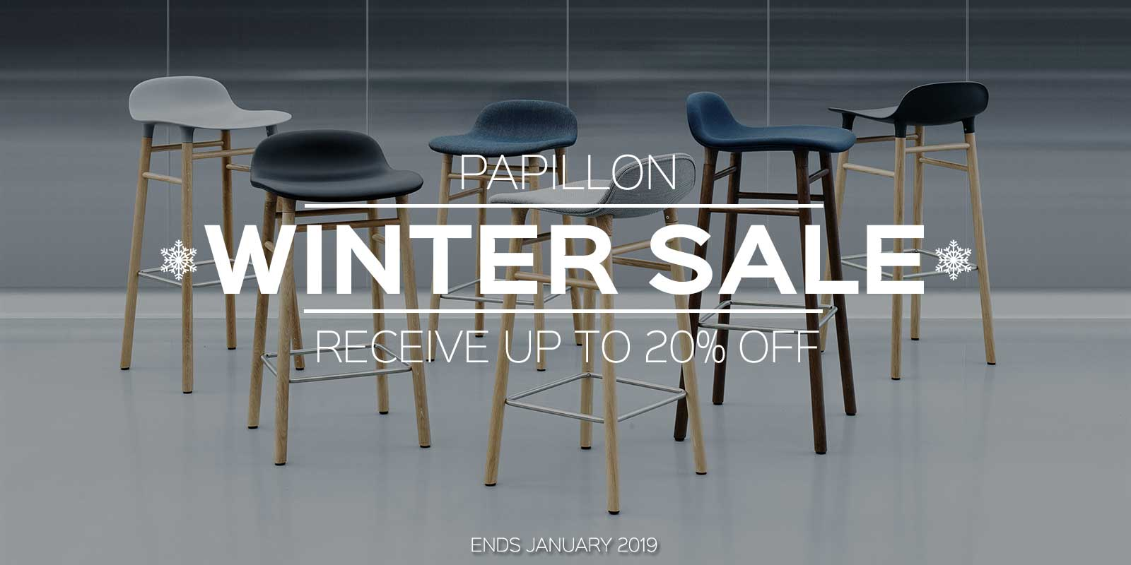 Papillon Interiors Winter Sale 2018 - Normann Copenhagen
