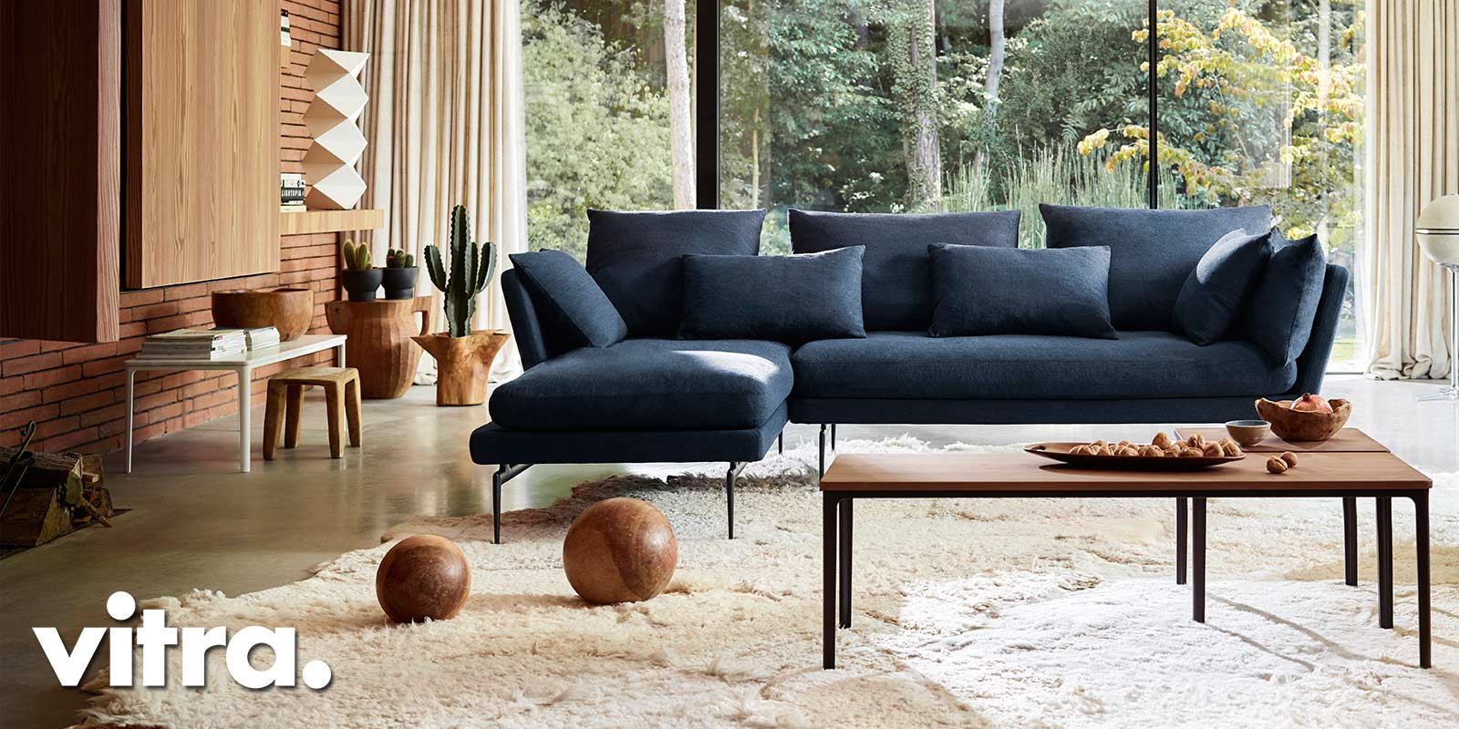 Vitra Suita Sofa & Plate Tables - Home Stories For Winter 2018