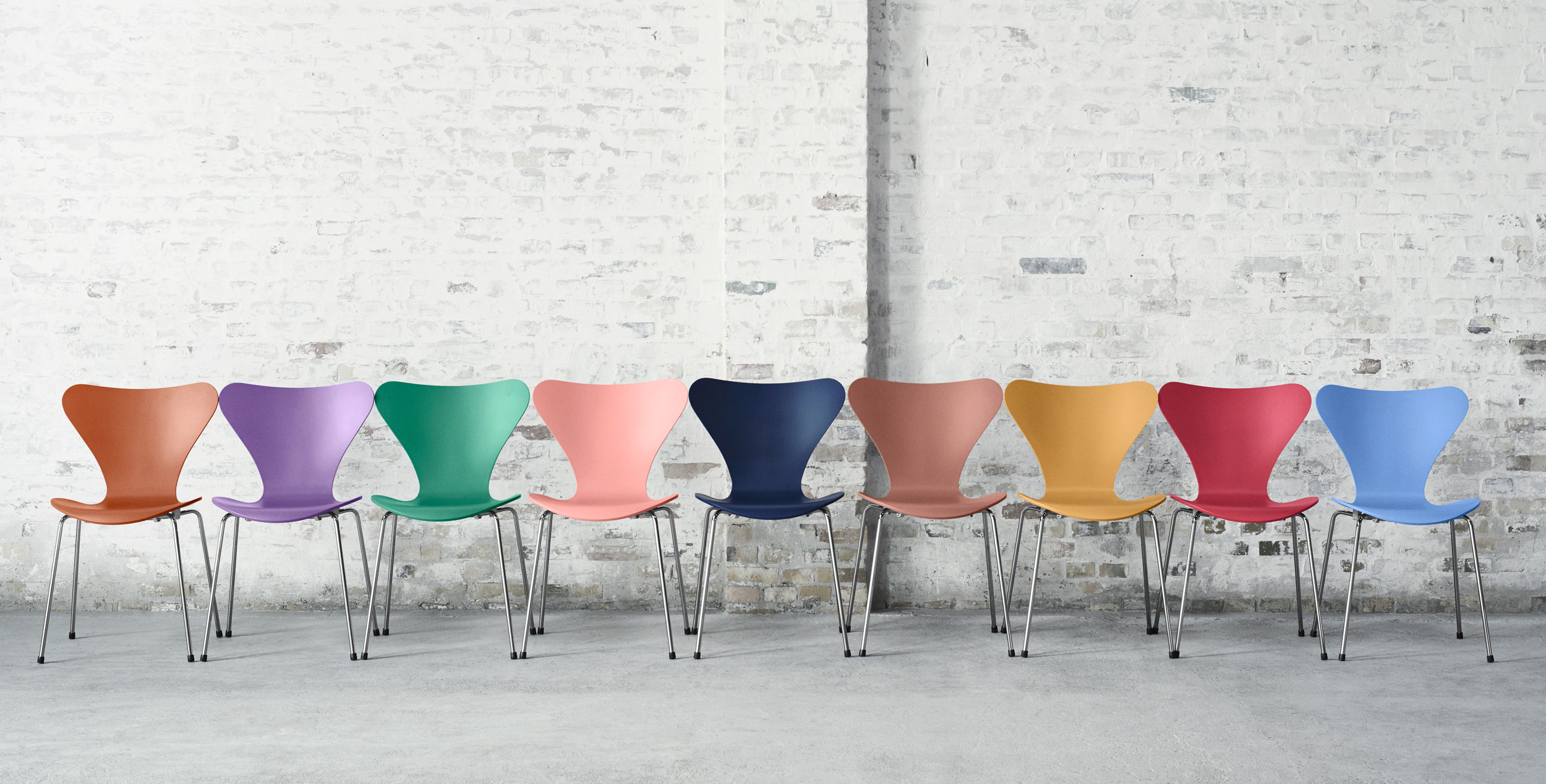 Fritz Hansen Series 7 Chair Colours