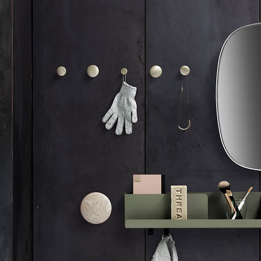 Papillon Interiors Black Friday 2020 Home Accessories - Muuto Framed Mirror, Dots & Folded Shelf