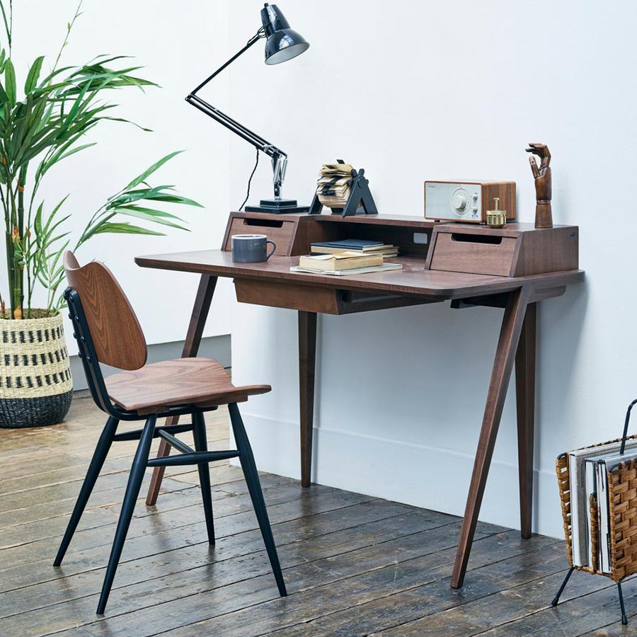 Papillon Interiors Black Friday 2020 Home Office Desks - Ercol Treviso Desk by Matthew Hilton